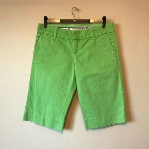 Juicy Couture green shorts